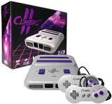 Old Skool Classiq II 2 HD 720p NES/Super Nintendo Twin Video Game System Old Skool Console Off the Charts