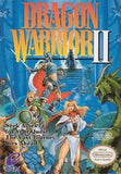 Dragon Warrior II Nintendo NES Game Off the Charts
