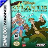 Atlantis The Lost Empire Game Boy Advance Game Off the Charts