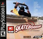 MTV Sports Skateboarding Playstation Game Off the Charts