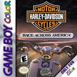 Harley Davidson Race Across America Game Boy Color Game Off the Charts