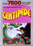 Centipede Atari 7800 Game Off the Charts