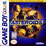 Asteroids Game Boy Color Game Off the Charts