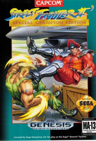 Street Fighter II Special Champion Edition - Off the Charts Video Games