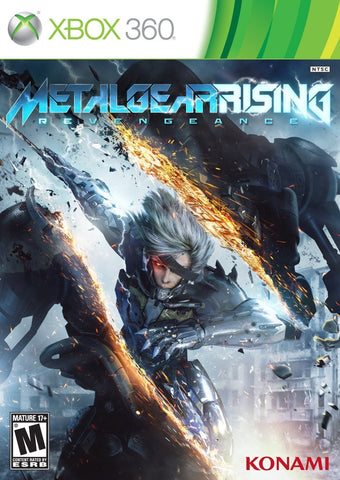 Metal Gear Rising Revengeance Xbox 360 Game Off the Charts