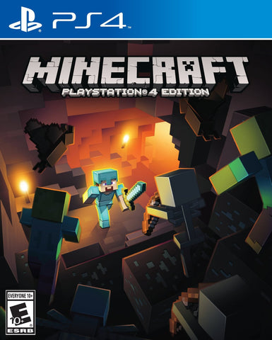 Minecraft: Playstation 4 Edition Playstation 4 Game Off the Charts
