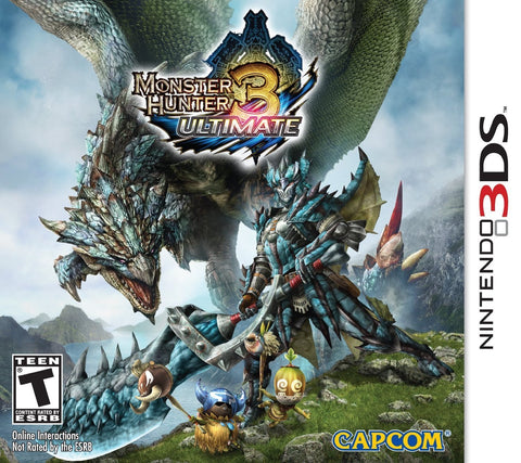 Monster Hunter 3 Ultimate Nintendo 3DS Game Off the Charts