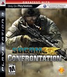 Socom Confrontation Playstation 3 Game Off the Charts