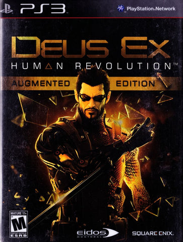 Deus Ex: Human Revolution Playstation 3 Game Off the Charts