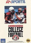 Bill Walsh College Football Sega Genesis Game Off the Charts