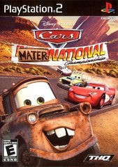 Cars Mater-National Championship Playstation 2 Game Off the Charts