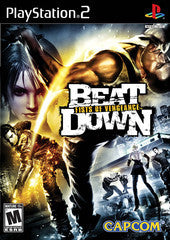 Beat Down: Fists of Vengeance Playstation 2 Game Off the Charts