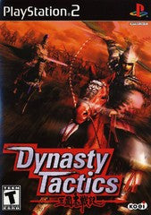 Dynasty Tactics Playstation 2 Game Off the Charts