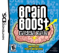 Brain Boost Gamma Wave Nintendo DS Game Off the Charts