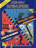 Chuck Norris Superkicks and Artillery Duel Double Ender Atari 2600 Game Off the Charts