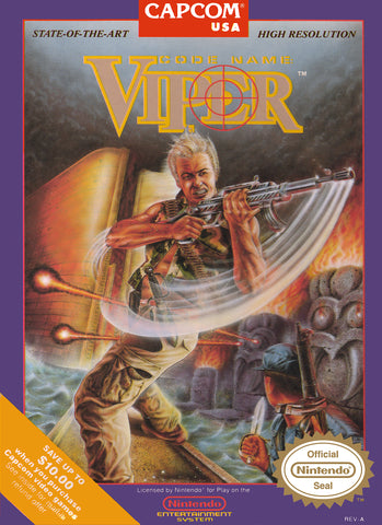 Code Name Viper Nintendo Entertainment System Game Off the Charts