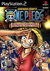Shonen Jump's One Piece Pirate's Carnival Playstation 2 Game Off the Charts