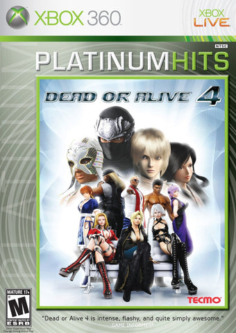 Dead or Alive 4 Xbox 360 Game Off the Charts