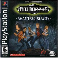 Animorphs Shattered Reality Playstation Game Off the Charts