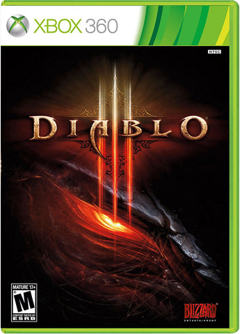 Diablo III - Complete xbox 360 Game Off the Charts