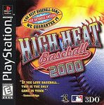High Heat Baseball 2000 Playstation Game Off the Charts