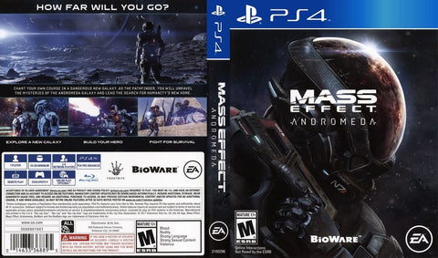 Mass Effect Andromeda - PlayStation 4 [PlayStation 4] Playstation 4 Game Off the Charts