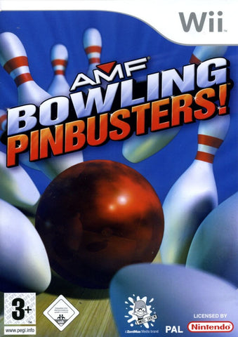 Amf Bowling Pinbusters Wii Games Off the Charts