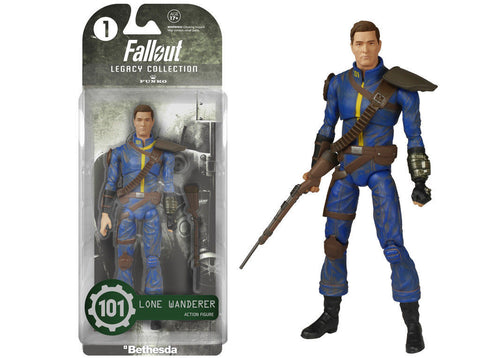 Fallout Lone Wanderer Legacy Collection Action Figure Toys Toys Off the Charts