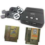 FC2 Slim System Bundle with The Legend of Zelda and Adventure of Link Nintendo NES Console Off the Charts
