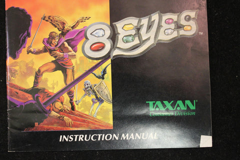 8 Eyes Manual Nintendo Entertainment System  Off the Charts