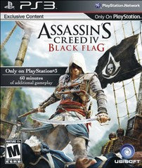 Assassins Creed IV: Black Flag Playstation 3 Game Off the Charts