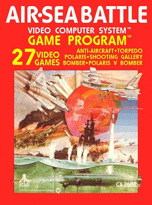 Air Sea Battle Atari 2600 Game Off the Charts