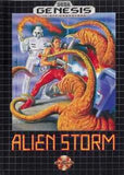 Alien Storm Sega Genesis Game Off the Charts