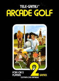 Arcade Golf Atari 2600 Game Off the Charts