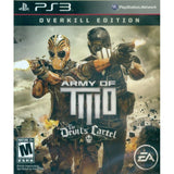 Army Of Two The Devils Cartel Playstation 3 Game Off the Charts