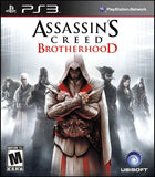 Assassins Creed Brotherhood Playstation 3 Game Off the Charts