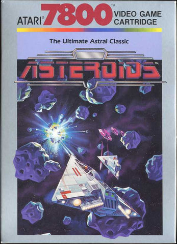 Asteroids Atari 7800 Game Off the Charts