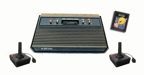 Atari 2600 Starter Pak PLUS Atari 2600 Console Off the Charts