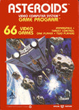 Asteroids Atari 2600 Game Off the Charts