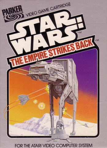 Starwars Empire Strikes Back Intellivision Game Off the Charts