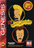 Beavis and Butthead Sega Genesis Game Off the Charts