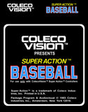 Super Action Baseball - Off the Charts Video Games