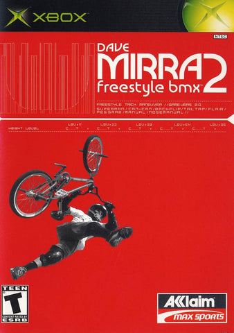 Dave Mirra Freestyle BMX 2 Xbox Game Off the Charts