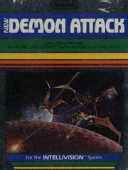 Demon Attack Intellivision Game Off the Charts