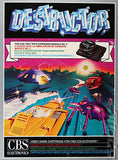 Destructor Colecovision Game Off the Charts
