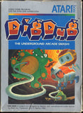 Dig Dug Atari 5200 Game Off the Charts