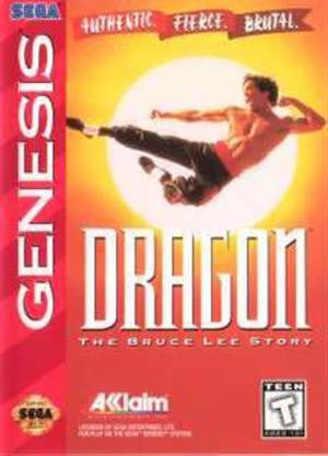 Dragon: The Bruce Lee Story Sega Genesis Game Off the Charts