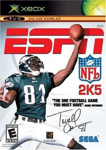 ESPN NFL 2K5 - Off the Charts Video Games