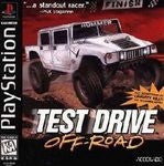 Test Drive Off Road Playstation Game Off the Charts