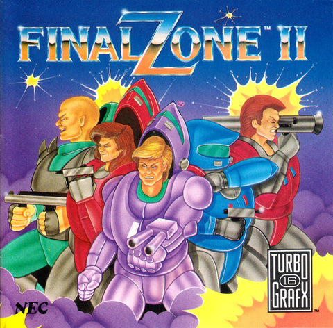 Final Zone II TurboGrafx-16 Game Off the Charts
